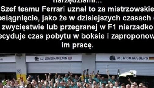 Co by się stało, gdyby zespół F1 Ferrari zatrudnił Polaków
