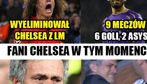 Fani Chelsea w tym momencie