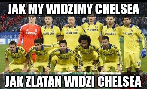 Jak my widzimy Chelsea vs jak Zlatan widzi Chelsea