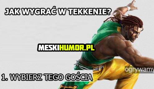 Jak wygrać w Tekkena