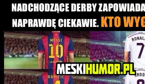 Nadchodzące derby…