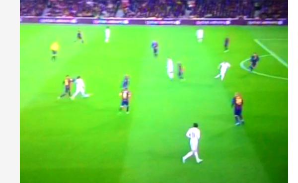 Gol Cristiano Ronaldo FC Barcelona 1-1 Real Madryt