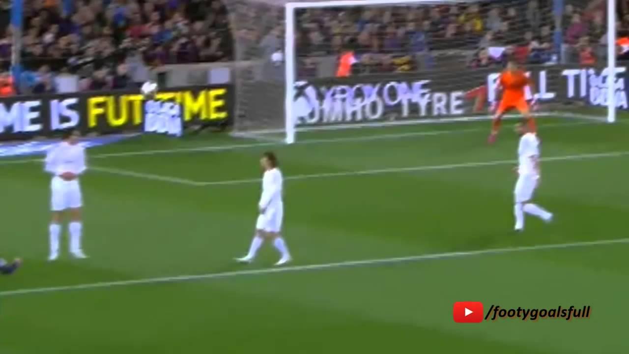 Jeremy Mathieu Gol – FC Barcelona vs Real Madrid 1-0