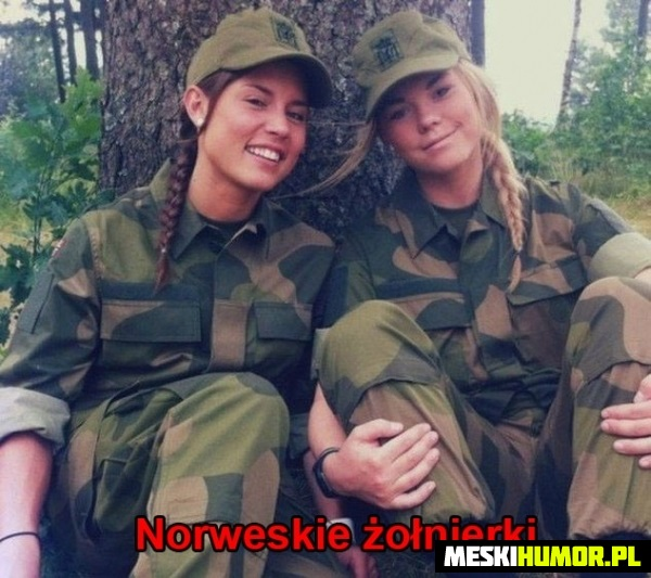 Norweskie żołnierki