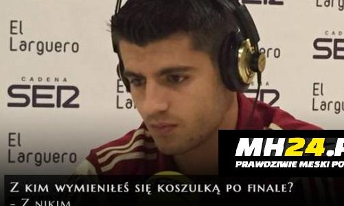Co Morata zrobił ze srebrnym medalem LM