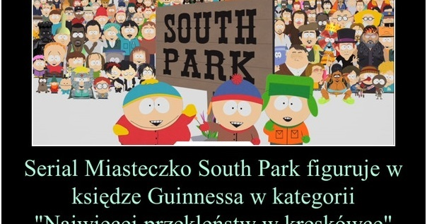 South Park figuruje w księdze Guinnessa