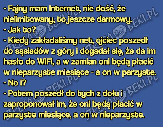 internet za darmo
