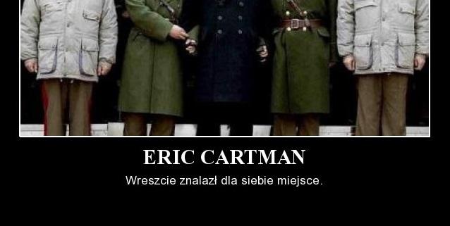 Eric Cartman – wreszcie znalazł dla siebie miejsce