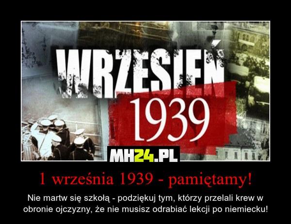 1 września 1939 – pamiętamy!