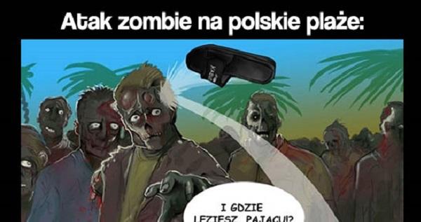 Atak zombie na polskie plaże