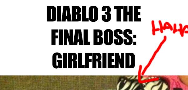 Diablo 3 the final boss