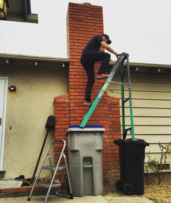 Improper Ladder Use Pictures To Pin On Pinterest Pinsdaddy