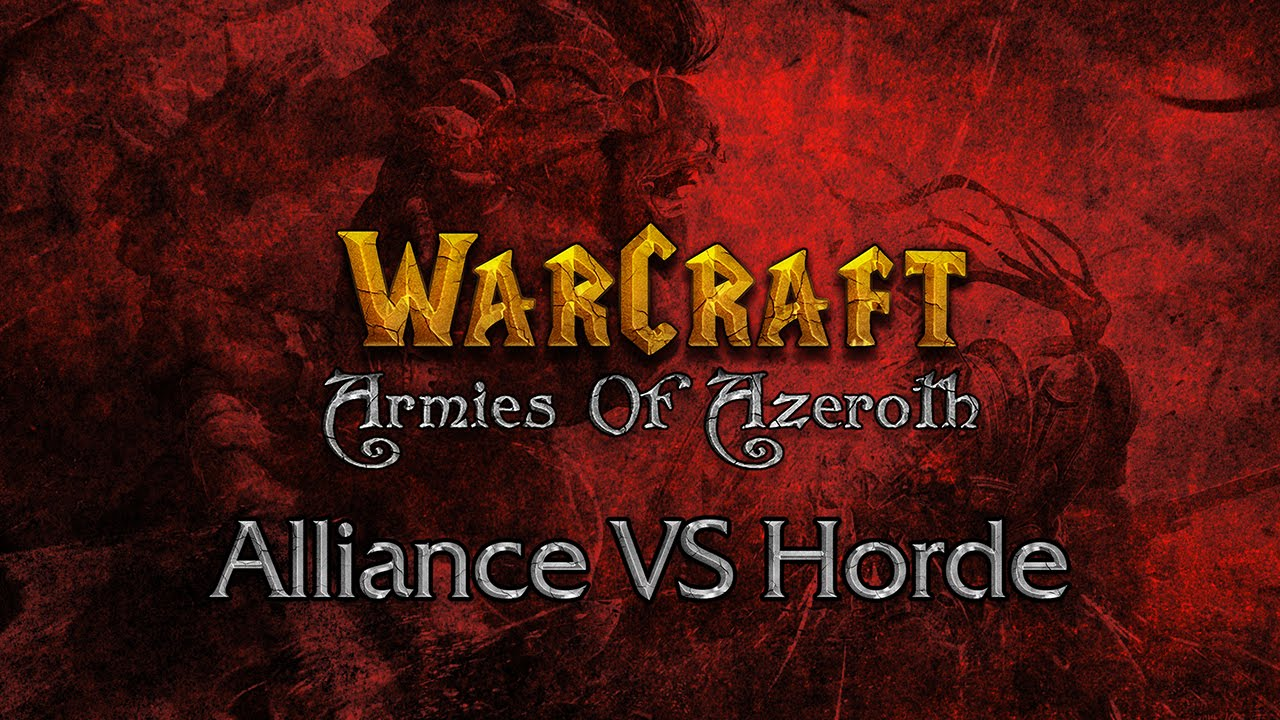 WarCraft: Armies Of Azeroth (Gameplay Alliance VS Horde)