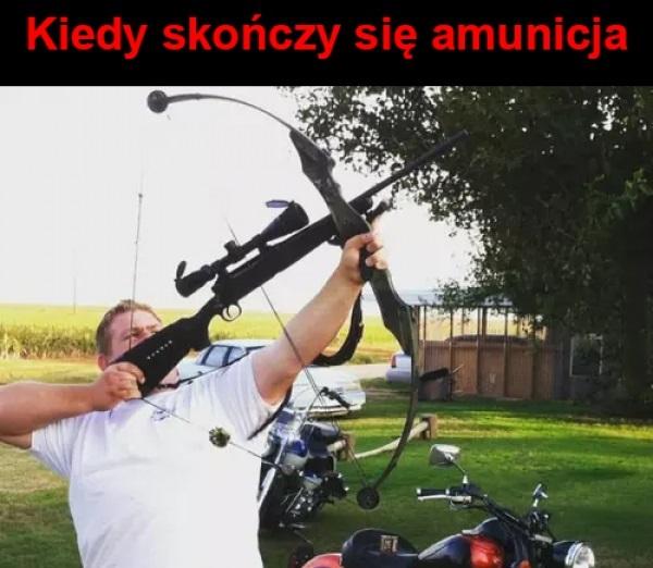 Kiedy skończy się amunicja