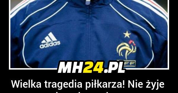 Wielka tragedia piłkarza