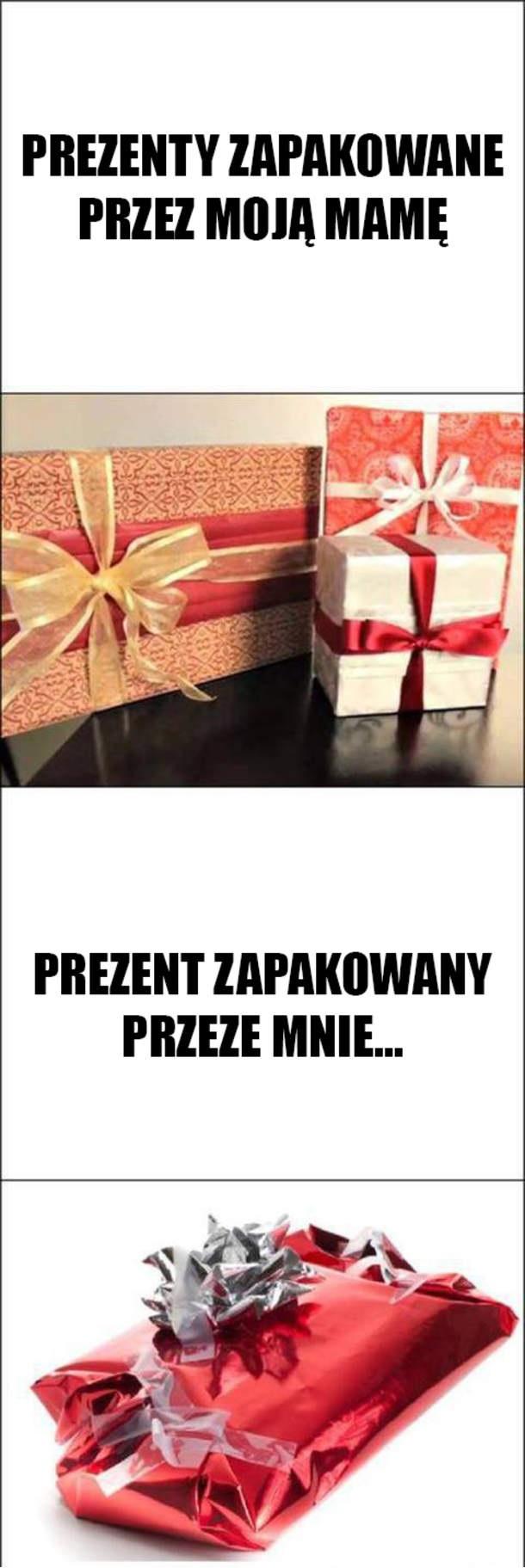 Pakowanie prezentów Obrazki