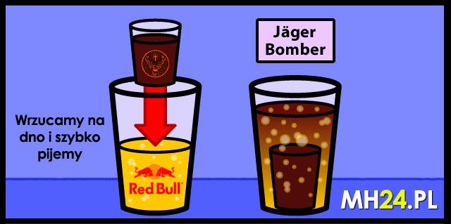 Jagerbomb jak zrobić - przepis na Jagerbombę! Przepisy