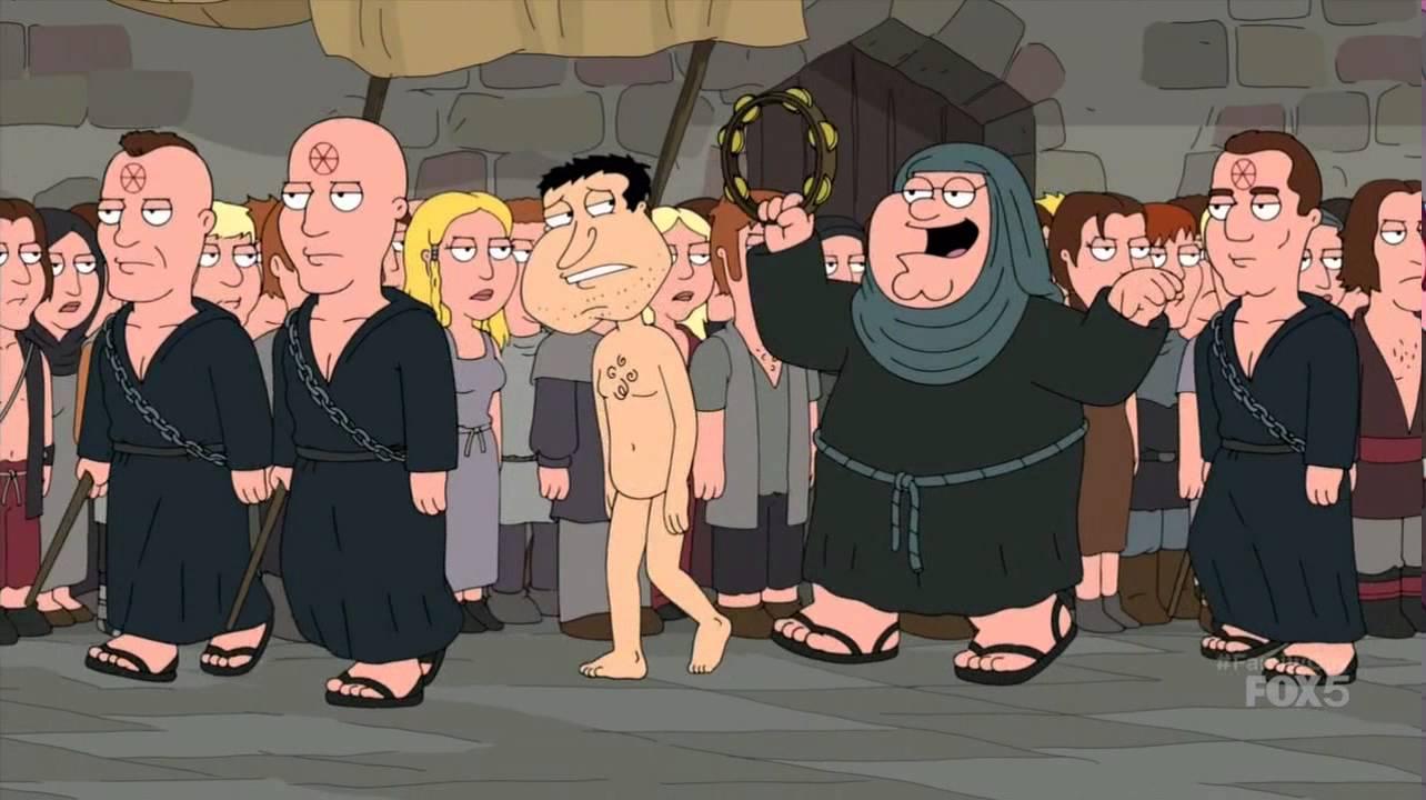 Family Guy parioduje Grę o Tron!