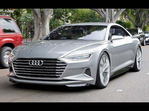Oto jak prezentuje się nowa Audi A9! Oto pierwsza jazda testowa!