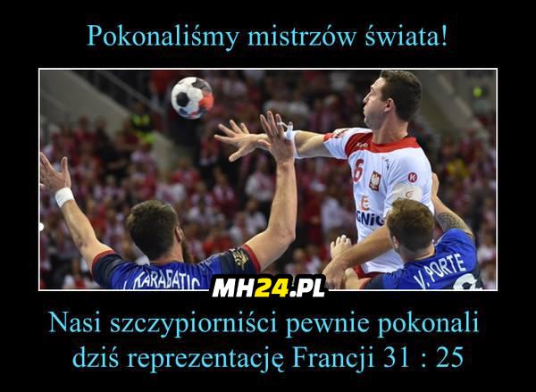 Wielkie brawa dla POLSKICH SZCZYPIORNISTÓW!