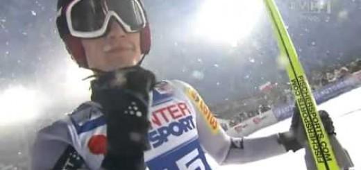 Kamil Stoch - Zakopane 23.01.2011 - pierwsza wygrana w karierze! Sport Video