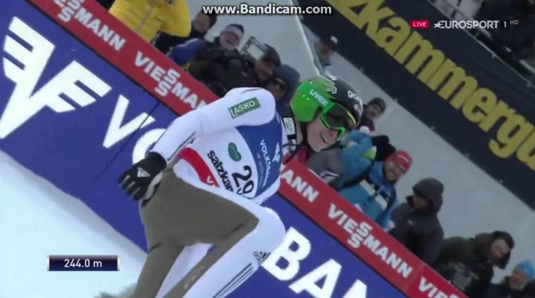 Peter Prevc – 244 m – nowy rekord! (filmik)