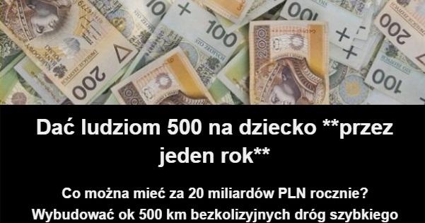 Co można mieć za 20 miliardów PLN rocznie?