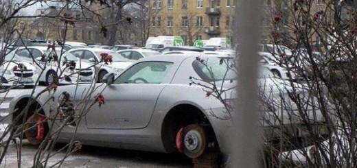 Ruski pit stop Motoryzacja Obrazki