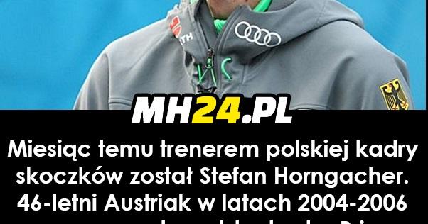 Maciej Kot o metodach szkoleniowych Stefana Horngachera