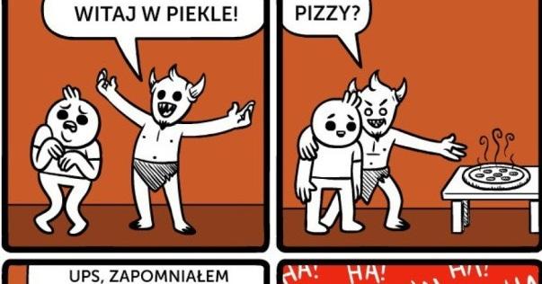Pizza w piekle