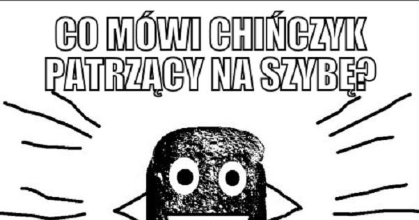 Co mówi Chińczyk…?