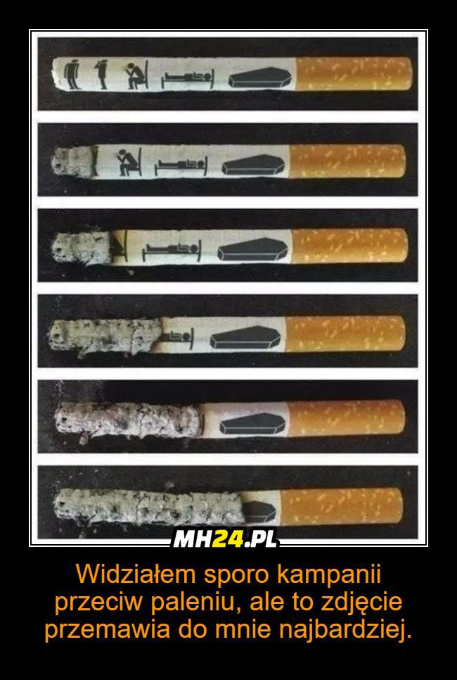 Najlepsza kampania przeciw paleniu Obrazki