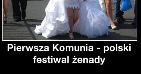 Pierwsza komunia – polski festiwal żenady
