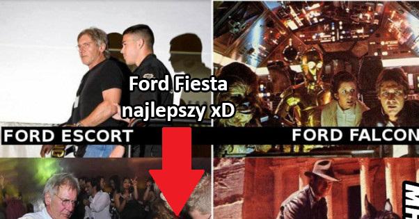 Różne oblicza Forda xD