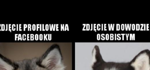 Różnica między zdjęciem profilowym a w dowodzie Obrazki