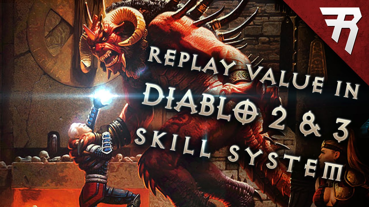 Diablo 3 vs. Diablo 2: Replay Value in the Skill System