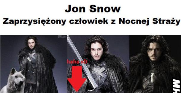 Jon Snow – zaprzysiężony człowiek z Nocnej Straży