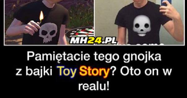 Pamiętacie Sida z Toy Story?