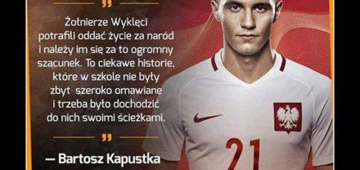 Piękne słowa Bartosza Kapustki Sport