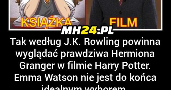 Tak powinna wyglądać prawdziwa Hermiona