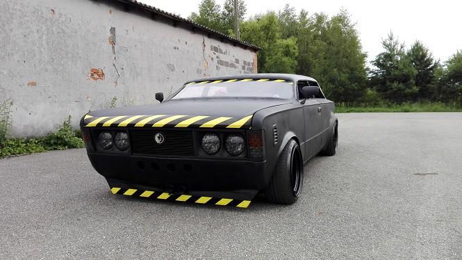 Fiat 125p niczym z Mad Maxa! Jedyne takie auto w Polsce!