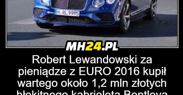 Nowe auto Roberta Lewandowskiego