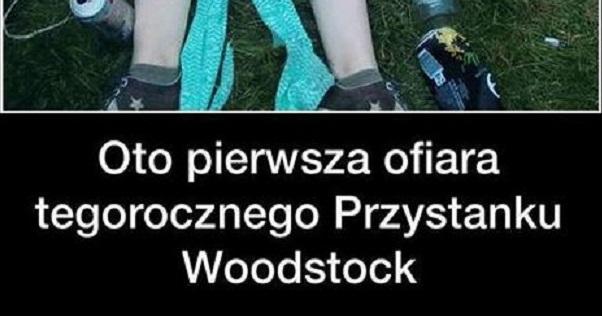 Pierwsza ofiara Przystanku Woodstock