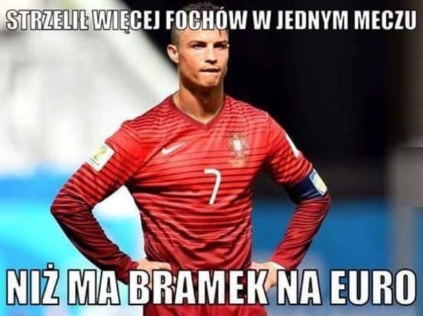 Strzelił więcej fochów w jednym meczu niż ma bramek na EURO