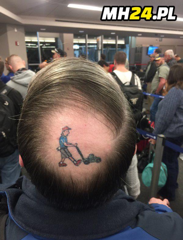 Tatuaż odmłodził go o 20 lat Obrazki