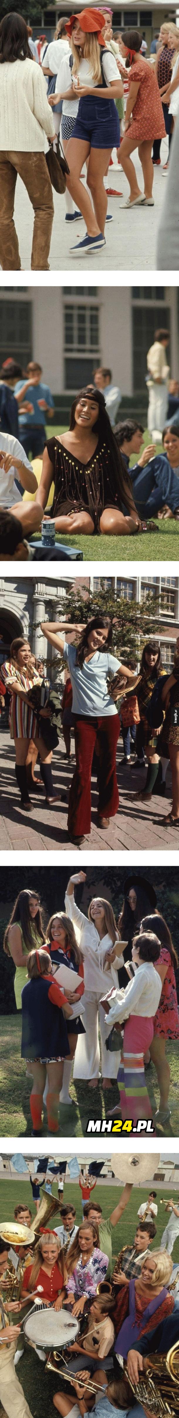 To były piękne czasy Moda