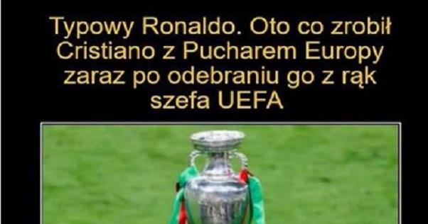 Typowy Ronaldo xD