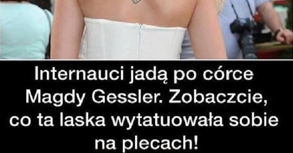 Beka z córki Magdy Gessler