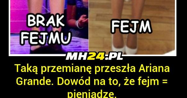 Metamorfoza Ariany Grande