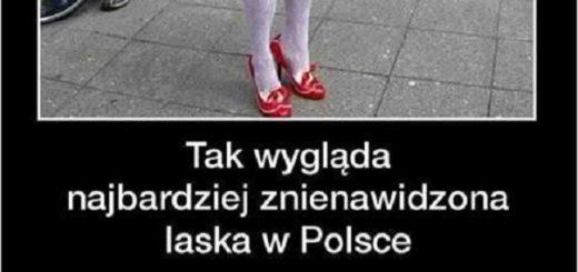 Oto najbardziej znienawidzona laska w Polsce xD Obrazki